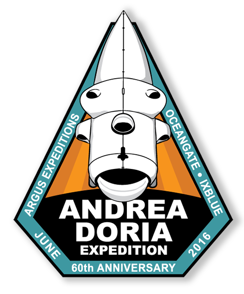 Image of OceanGate Andrea Doria Survey Expedition Mission Patch