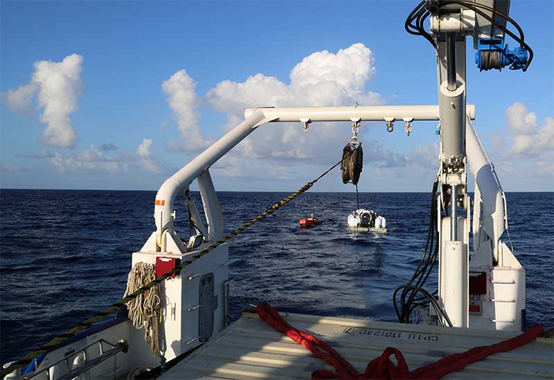 Image of MSLARS and Cyclops under tow.