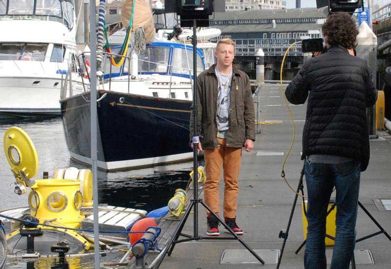 discovery channel crew films antipodes and macklemore interview