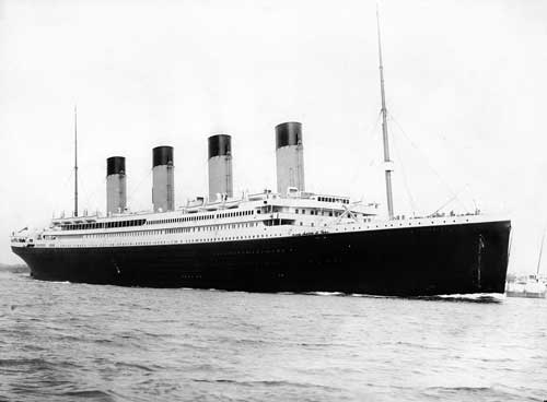 Image of The RMS Titanic