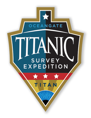 Image of OceanGate Titanic Survey Expedition Mission patch