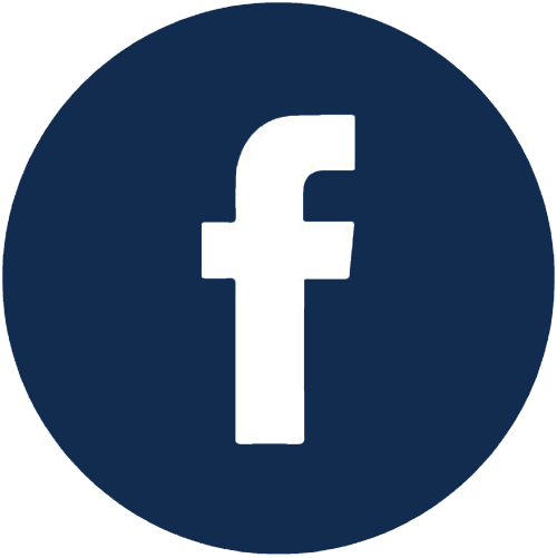 FaceBook icon in dark blue